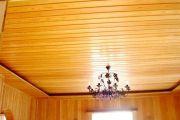 Ремонтируем потолки из вагонки и гипсокартона на даче своими руками