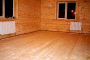 Строительство деревянного и бетонного пола на даче своими руками