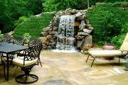 Создаем водопад на дачном участке самостоятельно