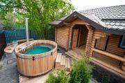 Строим японскую баню на приусадебном участке