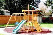 Строительство детской площадки собственными руками