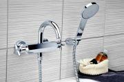 Установка смесителя в ванной комнате своими руками