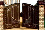 Строительство и установка своими руками ворот разных конструкций