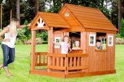 Строительство детского игрового домика своими руками