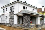 Отделка своими руками наружных стен дома искусственным камнем