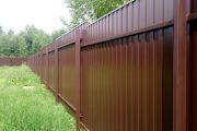 Как самостоятельно отремонтировать ограду из профлиста
