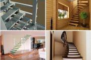 Как построить лестницу внутри дома самостоятельно