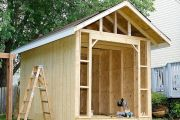 Как построить сарай на дачном участке
