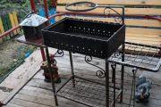 Оборудуем металлический мангал для дома и дачи своими руками