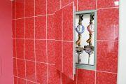 Как лучше спрятать трубы в ванной комнате