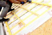Оборудуем гидроизоляцию крыши в дачном доме своими руками