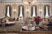 Обстановка дома и квартиры в стиле барокко