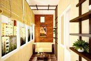 Создаем интерьер лоджии своими руками в квартире или доме