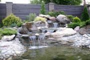 Как создать водопад с искусственным водоемом на своем участке
