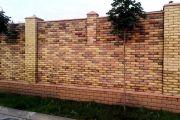 Ремонт ограды из кирпича своими руками