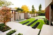 Оформляем собственный садовый участок в стиле минимализма