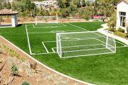 Как сделать футбольное поле на даче своими руками