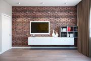 Имитация кирпича на внутренних стенах