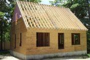 Строительство крыши дачного дома своими руками - конструкция, материалы, этапы работ
