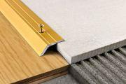 Как совместить разные напольные покрытия
