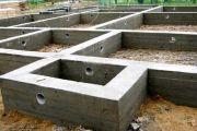 Строим фундамент под классический коттедж своими руками