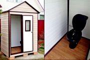 Строительство туалета на даче своими руками - особенности и нюансы работ