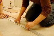 Разметка поверхностей для укладки плитки своими руками