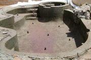 Строительство бассейна с бетонной чашей своими руками