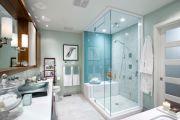 Оборудование душевой кабины в ванной комнате своей квартиры