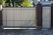 Виды конструкций ворот и материалы их изготовления