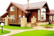 Популярные варианты строительства стен в дачных домах