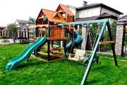 Оборудуем детскую площадку на участке своими руками