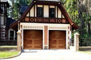 Строительство распашных гаражных ворот своими руками