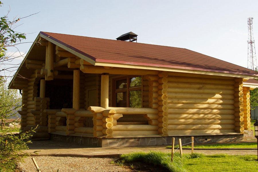 Строим русскую баню из дерева или сруба своими руками