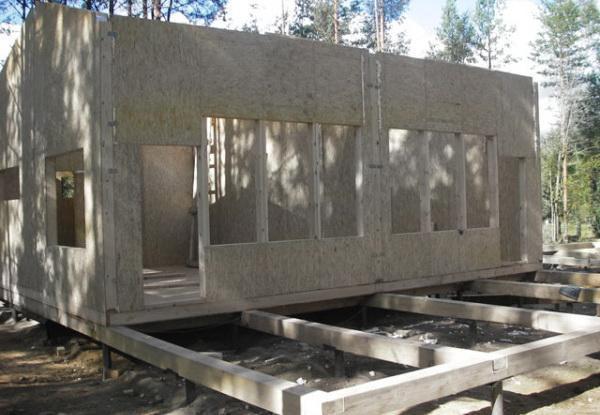 Все о строительстве своими руками каркаса для дачного дома
