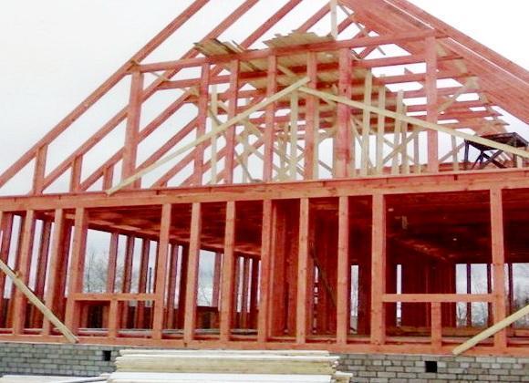Строим каркасный дом на даче своими руками