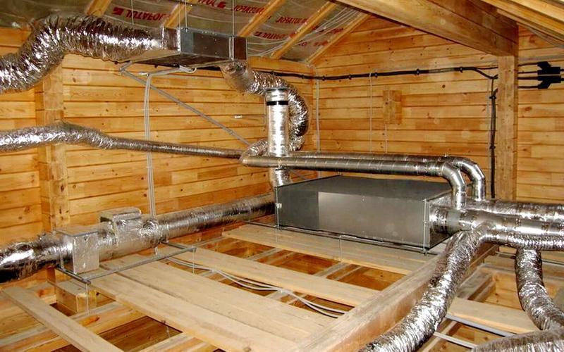 Вентиляция в частном деревянном доме своими руками 137