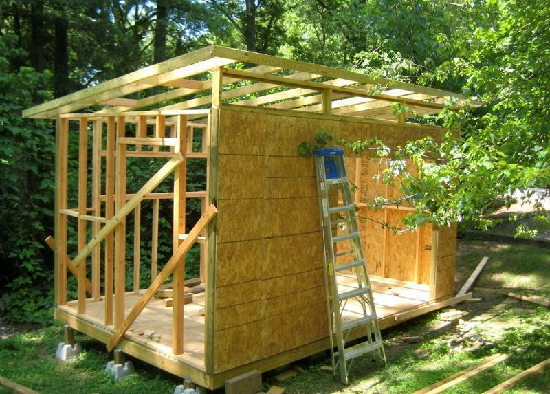 картинки как построить сарай