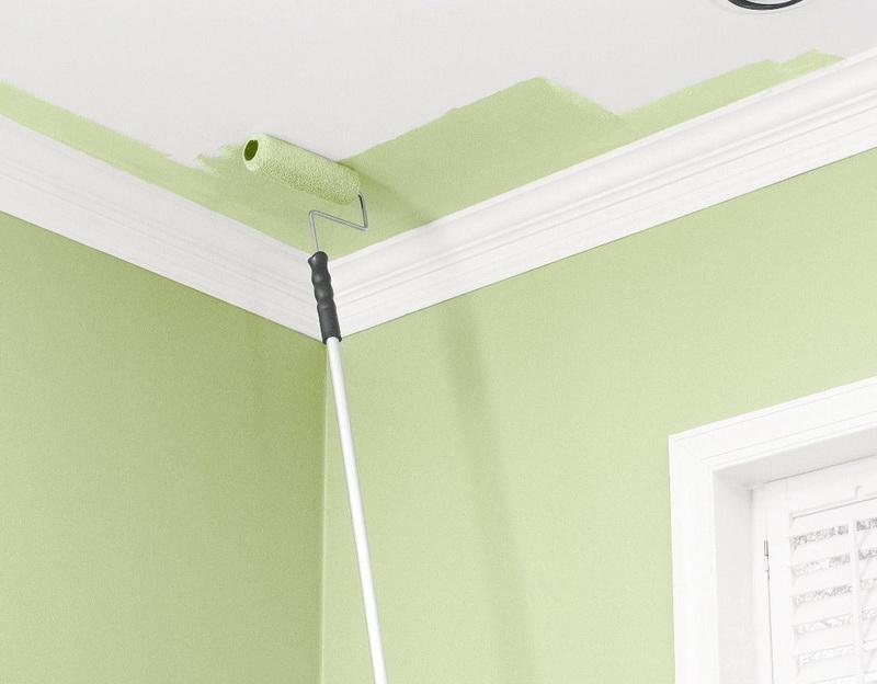Картинки по запросу этапы покраски потолка